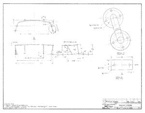 Columbia 39 Pulpit Stern Plan