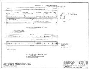 Columbia 39 Traveler Assembly Mainsheet Plan