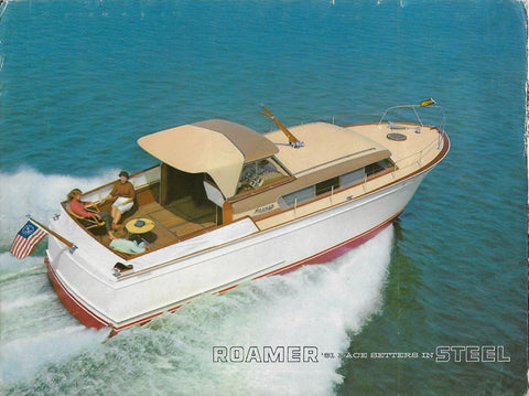 Chris Craft 1960s Roamer Brochure