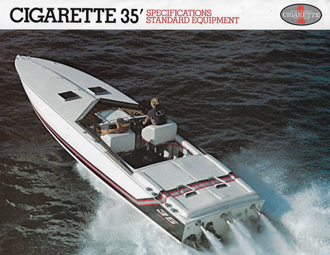 Cigarette 35 Specification Brochure