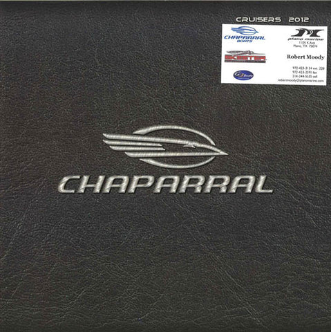 Chaparral 2012 Cruisers Brochure
