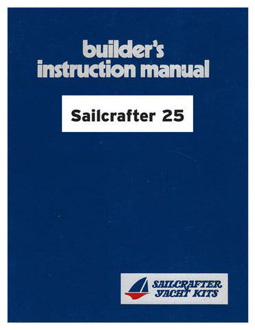 Columbia Sailcrafter 25 Owner's Manual