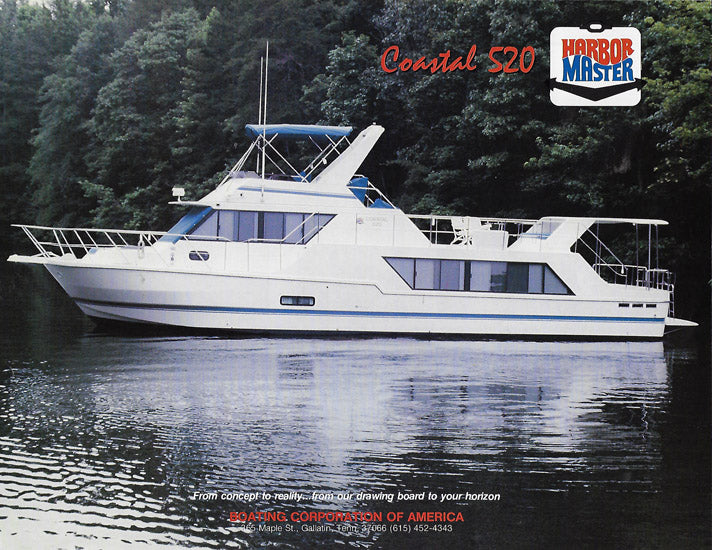 Harbor Master 520 Coastal Brochure