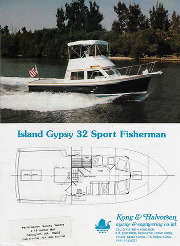 Island Gypsy 32 Sport Fisherman Brochure