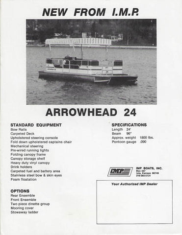IMP Arrowhead 25 Brochure
