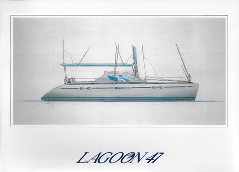 Lagoon 47 Folder Brochure