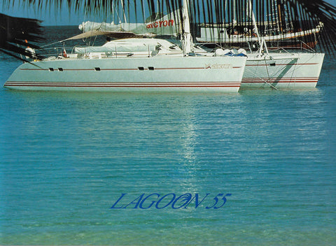 Lagoon 55 Folder Brochure