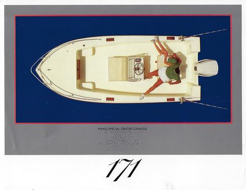 Mako 171 Special Center Console Brochure
