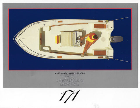 Mako 171 Center Console Brochure