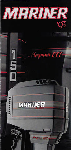 Mariner 1993 Outboard Mini Brochure