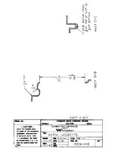 Columbia 32 Lazarette Hatch Plan