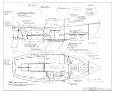 Coronado 23 Construction Drawing