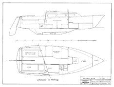Coronado 23 Mk II Interior Arrangement Plan