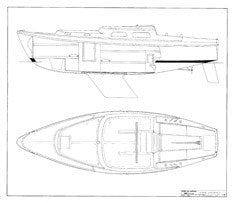 Coronado 27 Interior Arrangement Plan