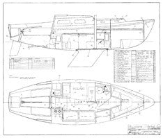 Coronado 27 Construction Drawing