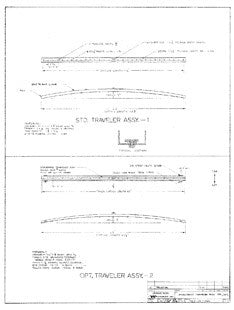 Coronado 27 Mainsheet Traveler Assembly Plan - Optional & Standard