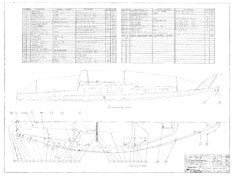 Coronado 27 Optional Deck Hardware Plan