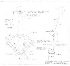 Coronado 30 Trimbtab Control Handle Assembly Plan