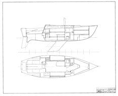 Coronado 32 Mk II Interior Arrangement Plan