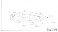 Coronado 32 Mk II Deck Wood Plan