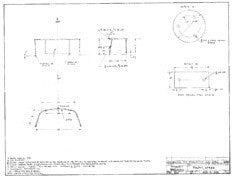 Coronado 32 Stern Pulpit Plan