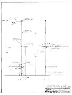 Coronado 35 Mizzen Mast Assembly Plan
