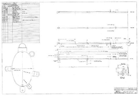 Coronado 41 Mast Assembly Plan - Ketch Rig