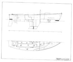 Columbia 21 Interior Arrangement Plan