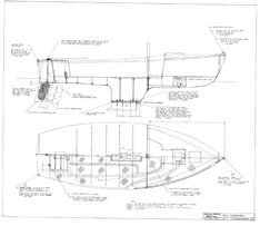 Columbia 21 Hull Assembly Plan