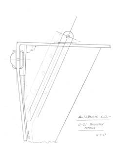 Columbia 21 Backstay Fitting Plan