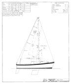 Columbia 22 Sail Plan