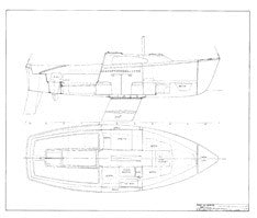 Columbia 22 Interior Arrangement Plan