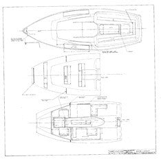 Columbia 22 Wood Layout Plan