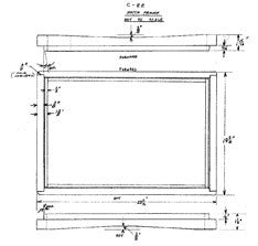 Columbia 22 Hatch Frame Plan