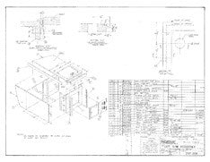 Columbia T23 Sink Assembly Plan - Optional