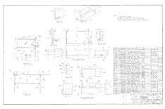 Columbia T23 Galley Assembly Plan - Optional