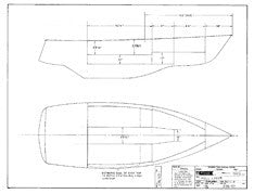 Columbia T23 Hull Liner Plan