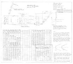Columbia T23 Offset Table Plan