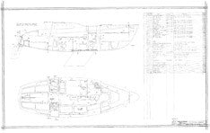 Columbia 26 Mk II Construction Drawing