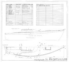 Columbia 26 Mk II Deck Hardware Plan