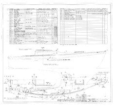 Columbia 26 Mk II Deck Hardware Plan - Optional