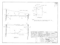 Columbia 26 Mk II Head Cover Panel Plan - Optional