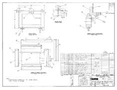 Columbia T26 Stove Door & Frame Assembly Plan