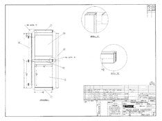 Columbia T26 Head Door Assembly Plan