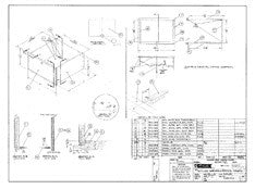 Columbia T26 Galley Drawer & Frame Assembly Plan
