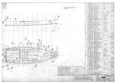 Columbia T26 Deck Hardware Plan