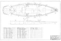 Columbia Defender Deck Hardware Layout Plan