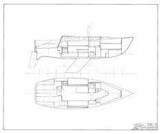 Columbia 30 Interior Arrangement Plan - Page 1
