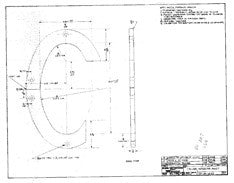 Columbia 30 Interior Mast Collar Plan