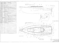 Columbia 30 Optional Deck Hardware Plan